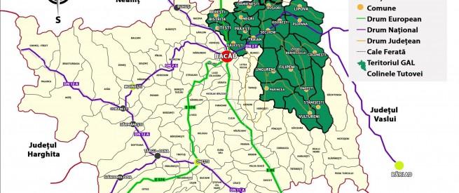 Harta teritoriu GAL